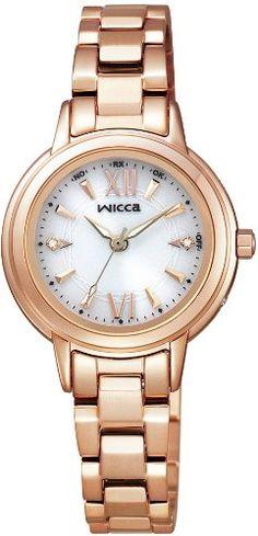 [シチズン]CITIZEN 腕時計 wicca ウィッカ ソーラーテック 電波時計 KL4-061-11 レディース