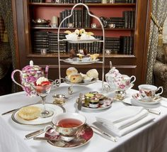 The pleasures of afternoon tea at the Fairmont Royal York Hotel, Toronto.