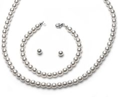 USABride 3 Piece Simulated Pearl Necklace, Bracelet & Earring White Jewelry Set 502 USABride http://www.amazon.com/dp/B004HPMHUU/ref=cm_sw_r_pi_dp_INb3ub0B4QHEM