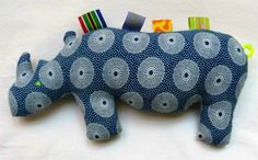 Hey, I found this really awesome Etsy listing at https://www.etsy.com/listing/169956806/blue-rhino-fabric-toy-teething-and