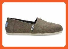 TOMS Women's Classics Desert Taupe Poly Canvas Loafer - Loafers and slip ons for women (*Amazon Partner-Link)
