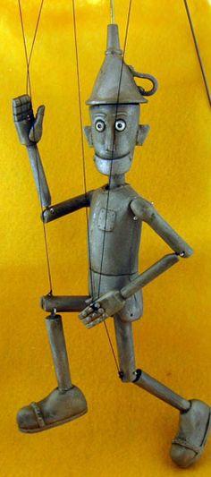 Tin Man Puppet