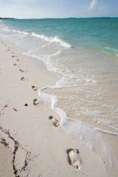 I LOVE walking on the beach early in the morning....
