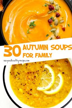 """30 """"Worth-Trying"""" Autumn Soups Crockpot Recipes, Soup Recipes, Cooking Recipes, Healthy Recipes, Simply Recipes, Fall Recipes, Roasted Vegetable Soup, Hot And Sour Soup, Rice"""