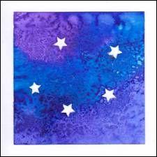 Vánoční přáníčka s hvězdičkami Flag, Sky, Heaven, Heavens, Flags