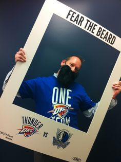 General Manager of the Wichita Thunder, Joel Lomurno, Fears The Beard