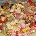 """Delicious Italian Pasta Salad  This delicious pasta salad is always a big hit at parties and it's so easy to make. Everyone is always asking me for the recipe. Try it for yourself with the pasta of your choice."""""""