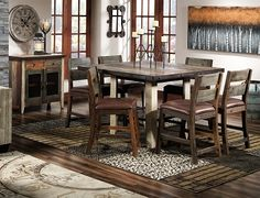 Dining Set LEONS FURNITURE 2000 Industrial