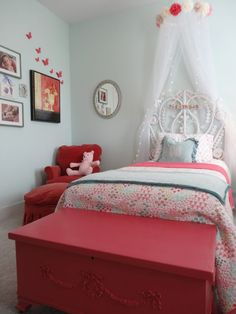 Leau0027s Sweet Dreams Big Girl Bedroom