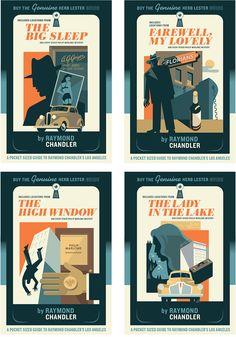 Raymond Chandler Covers on Behance