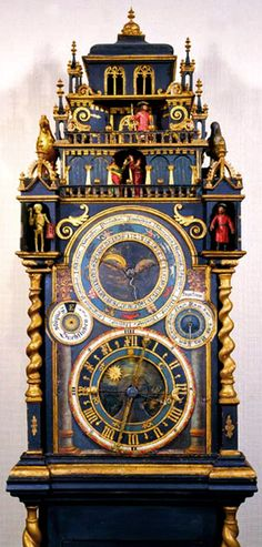 This clock was last in Chicago's Museum of Science & Industry.  It has  since been sold to a private collector.