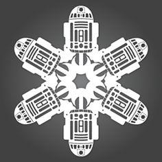 Geek-Out: DIY Star Wars Snowflakes