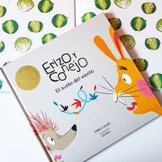 ¿Todavía no conocéis a Erizo y Conejo? Unas aventuras de lo más divertidas que harán que los primeros lectores disfruten de estos dos amigos.  PVP: 13.90€ cada uno