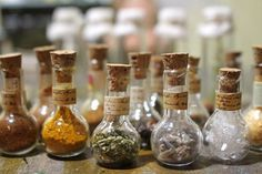 Miniature Apothecary Bottles with Mysterious Contents image 5 Herbal Tinctures, Herbalism, Herbal Oil, Apothecary Jars Decor, Apothecary Cabinet, Witch Aesthetic, Aesthetic Dark, Aesthetic Bedroom, Potion Bottle
