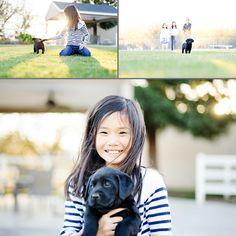 Me encanta como se ha capturado la luz en este conjunto de fotos, el bokeh de la  foto central, el movimiento del pelo de la niña