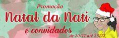 ALEGRIA DE VIVER E AMAR O QUE É BOM!!: [DIVULGAÇÃO DE SORTEIOS] - Sorteio: Natal da Nati ...