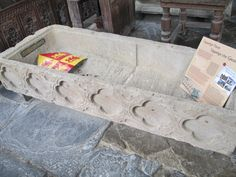 Joan's tomb. It now lies in Beaumaris parish church with this…