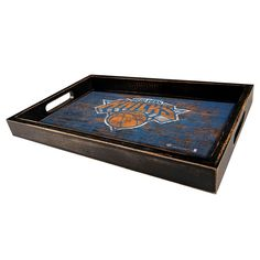 New York Knicks Distressed Serving Tray, Multicolor