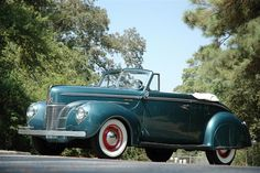 1940 Ford Super Deluxe Convertible