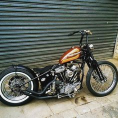 Rigid, Panhead, perfection. Maybe too clean for me?