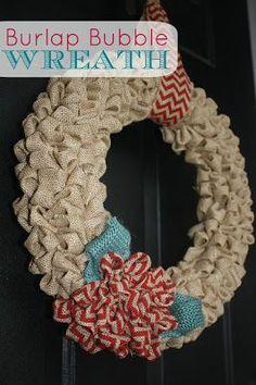 Super Darling! #Burlap #Wreath