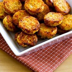Bite-sized and delicious, these Cheesy Baked Cauliflower Tots are great for a snack or side dish! This recipe is low-carb, Keto, low-glycemic, gluten-free, meatless, and South Beach Diet friendly;use theRecipes-by-Diet-Type Indexto find more recipes like this one. Click here to PIN this tasty recipe so you can make it later! When a food idea takes …