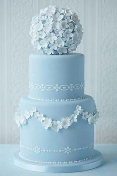 This is a wedding cake, but beautiful, and white chocolate covered strawberries?! Though, I would prefer dark.