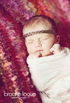 adore the different take on baby girl pictures @Shelley Midgette