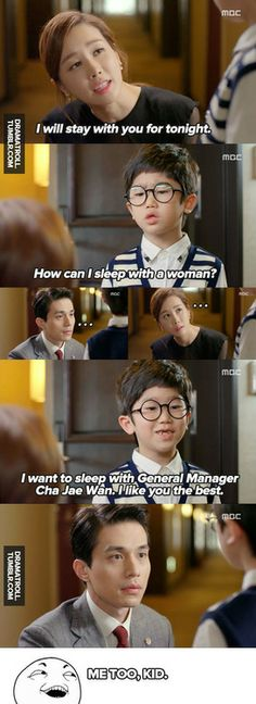 Hotel King | loved this scene and the one following it.
