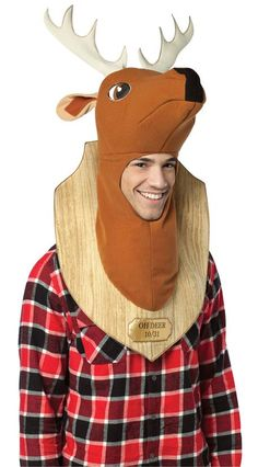 Trophy Head Deer Adult Costume  Product #: WC16472 Retail Price: $33.97 Sale Price: $30.88