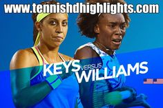 1/27/15 #AustralianOpen 2015 QFs TENNIS_HD Highlights:  #VenusWilliams vs #MadisonKeys   https://www.youtube.com/watch?v=0qdQG9DDrhQ …