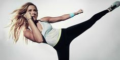 The singer and superfittie has partnered with Nike to create her own workout, and you can do it too for FREE
