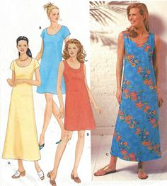 Simplicity Sewing Pattern 9691 Womens Pullover by CloesCloset