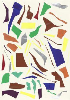 Imi Knoebel. Messerschnitte. 1977-78