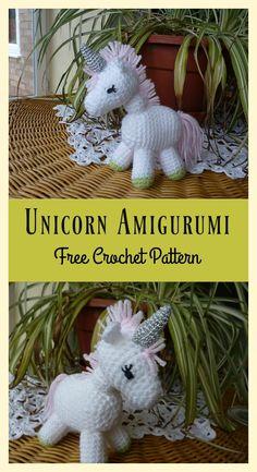 Little Unicorn Amigurumi Free Crochet Pattern