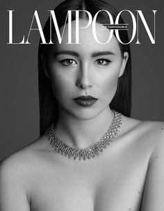 Stunning cover shot in the September 2015 issue of The Fashionable Lampoon featuring Aurora Ramazzotti wearing a #Buccellati necklace in white and yellow gold set with brown diamonds.  Photo by Karel Losenicky #BuccellatiEditorials