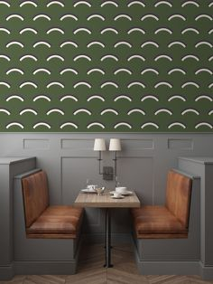 Jupiter 10's wall coverings