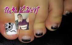 Image may contain: 1 person Cute Pedicure Designs, Nail Designs, Cute Pedicures, Nailart, Instagram Posts, Image, Beauty, Toenails, Fairy