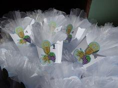 Scatoline porta confetti - segnaposto per una Prima Comunione