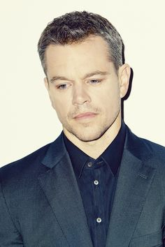 Matt Damon by Meredith Jenks