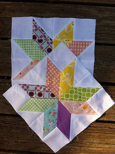 August blocks for do. Good Stitches, Peace circle | Flickr - Photo Sharing!
