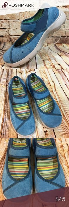 Dansko Emmy Blue Suede Shoes Sneakers 38 7.5 - 8 These Dansko's are in very good, lightly worn condition. Minor scuffs, scratches and marks from wear. In size US 7.5-8 EU 38. Please see pics for more details (: Dansko Shoes Flats & Loafers