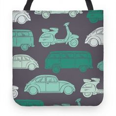 The Hippie Traveller Pillows Italy Street, Cute Tote Bags, Vespa, Pillow Design, Recycled Materials, Vintage Cars, Hand Sewing, 1960s, Original Art