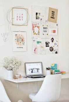 cute workspace #desk #office
