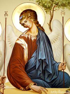 Fresco on altar wall Byzantine Icons, Byzantine Art, Verge, Catholic Pictures, Paint Icon, I Believe In Angels, Biblical Art, Web Gallery, Goddess Art