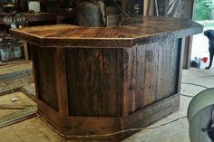 Barn Wood Bar by Barn Wood Furniture, Eddie Abernathy