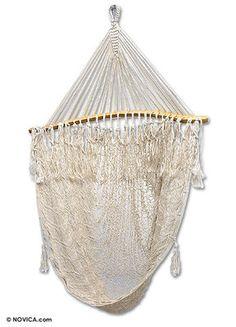 Love my hammock swing