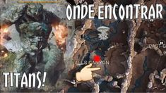 ANTHEM: Onde encontrar Titan no modo Livre