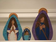 Nativity set, hand made in Venezuela