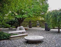 Resultado de imagen para jardin de la paz isamu noguchi